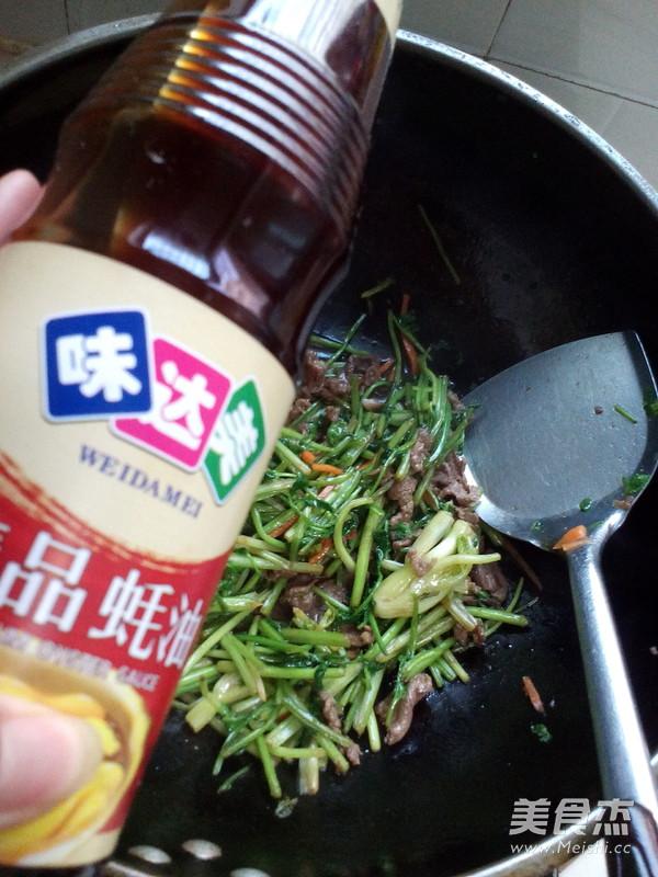 牛肉炒香菜怎么煮