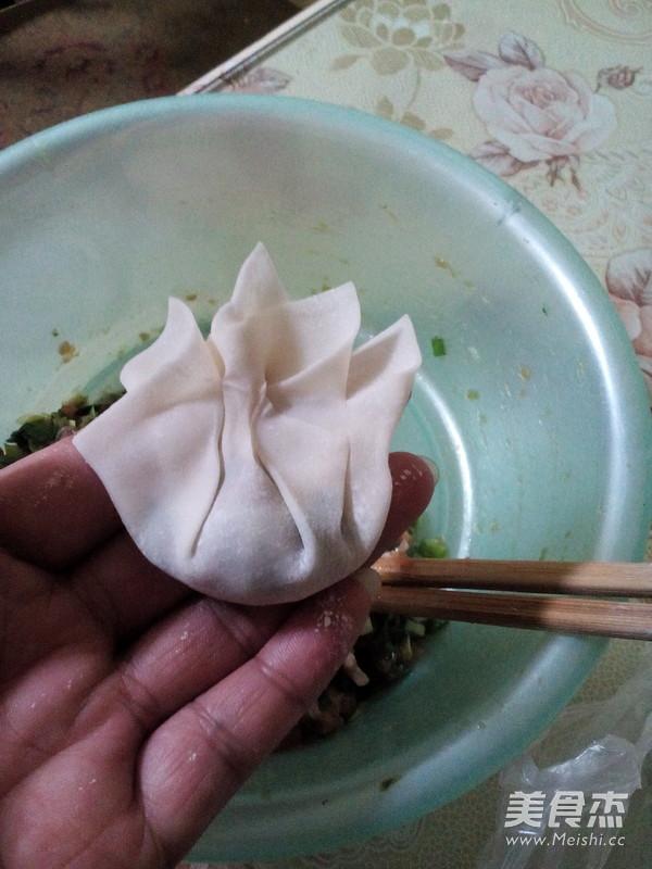 韭菜猪肉馄饨怎么炒