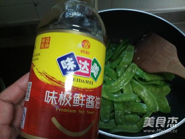 蒜香荷兰豆怎么吃