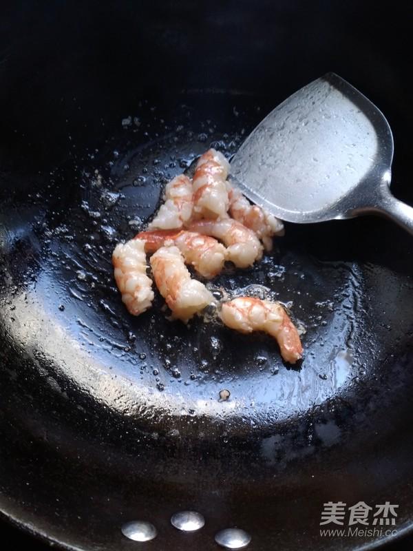 小白菜烧虾的简单做法