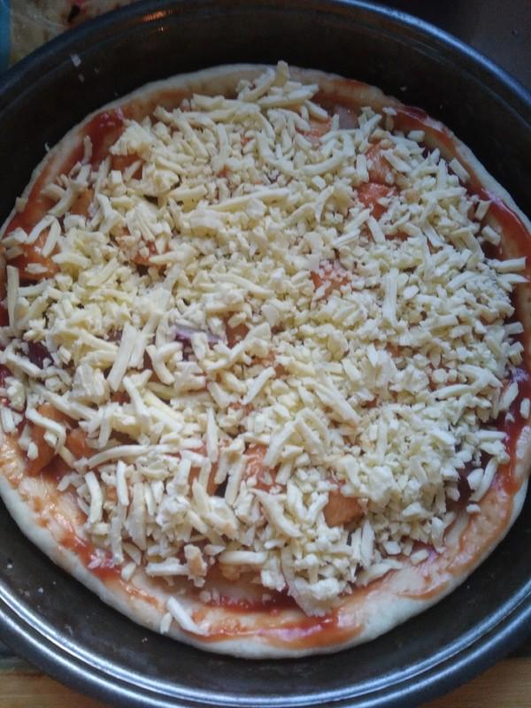 奥尔良鸡肉披萨怎样做