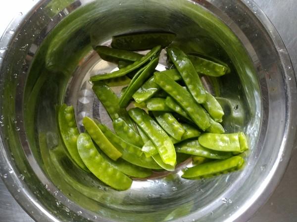 小炒荷兰豆的做法大全