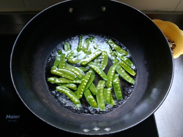 小炒荷兰豆的做法图解