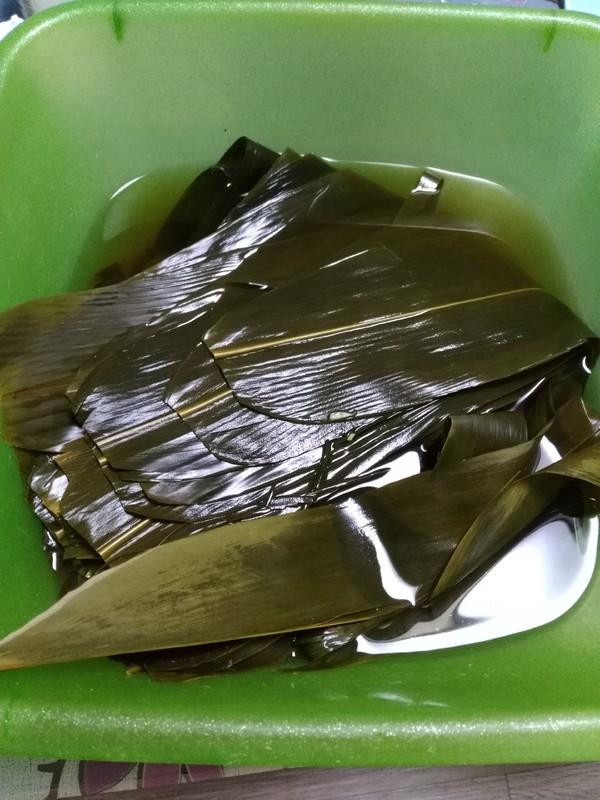 竹筒形粽子的做法图解