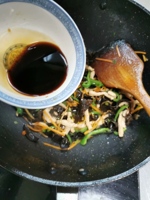 鱼香肉丝怎么吃