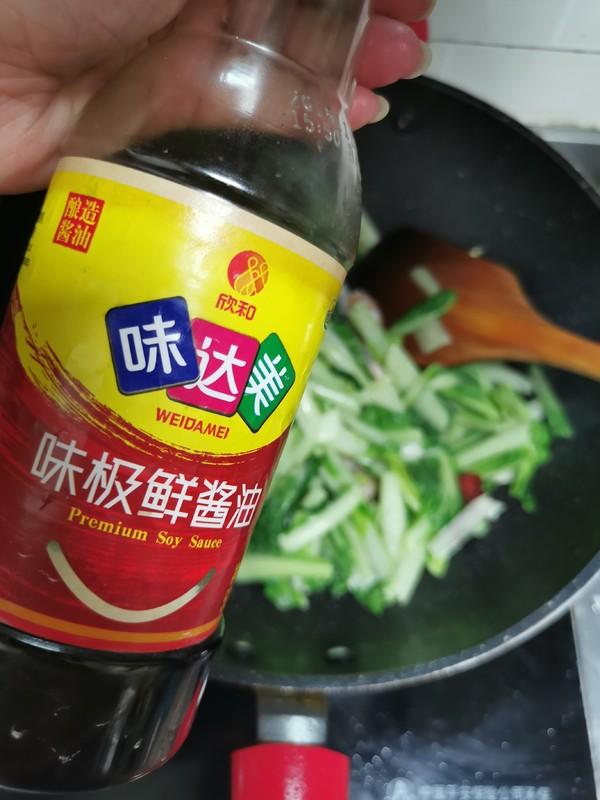 小白菜烧虾仁怎么吃