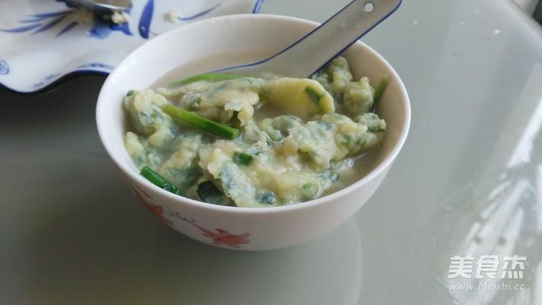 韭菜面片汤怎么吃