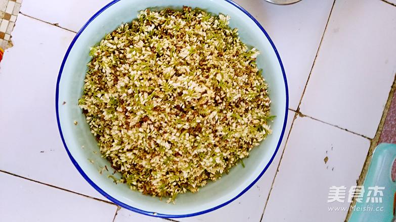 桂花枸杞茶的家常做法