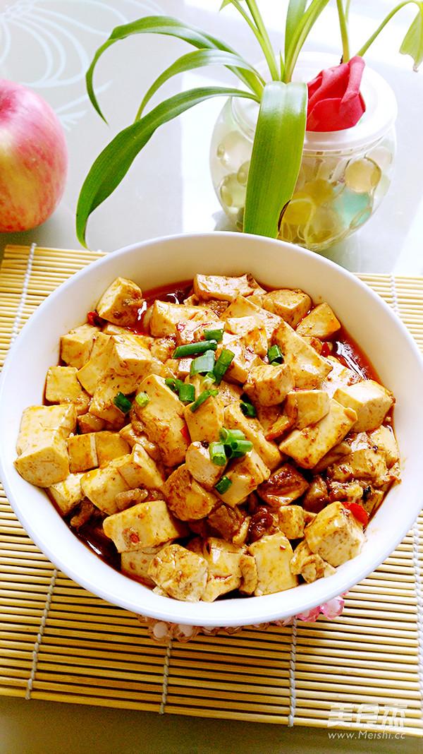 豆腐炒肉丁怎么炖