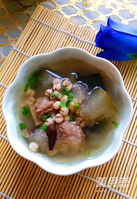 冬瓜薏米排骨汤怎么煮