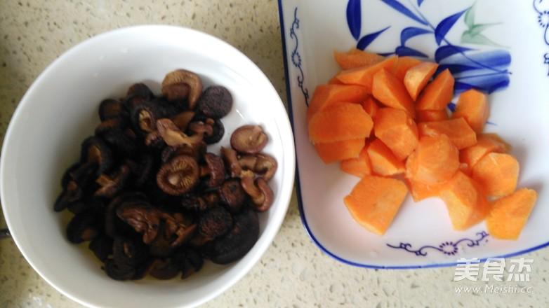 煮胡萝卜香菇水饺的简单做法