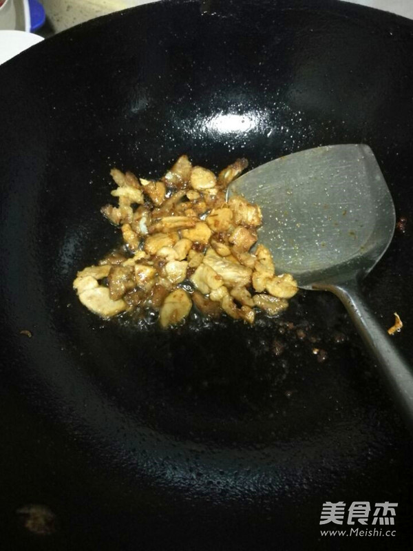四季豆肉末西红柿鸡蛋面条的做法图解