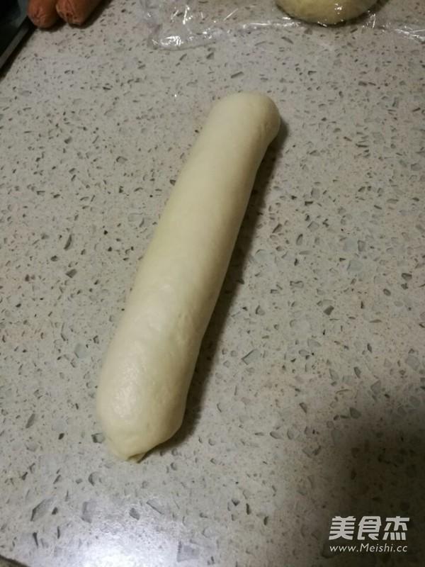 火腿肠花形面包怎么做