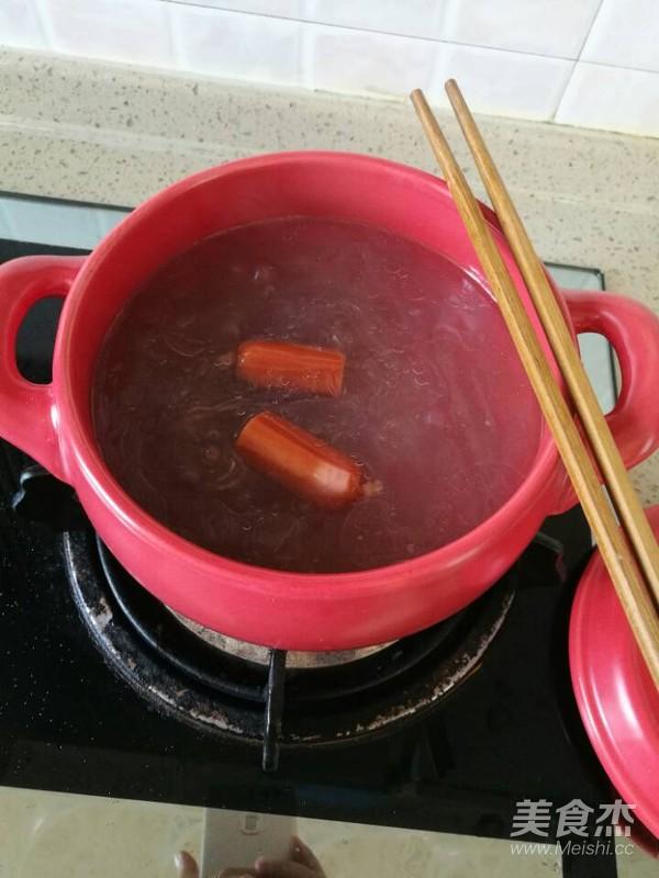 砂锅莲藕红薯粉怎么炖