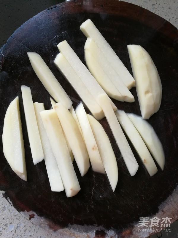 炸土豆条的做法图解