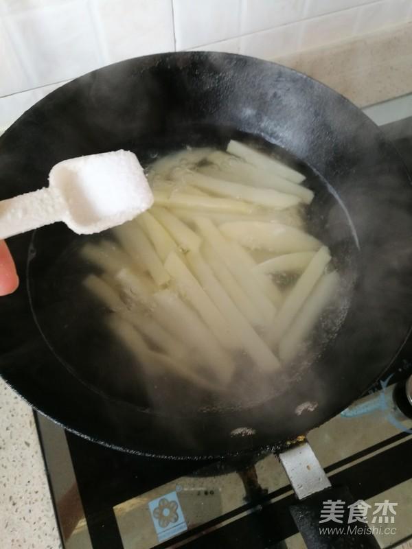 炸土豆条怎么炒