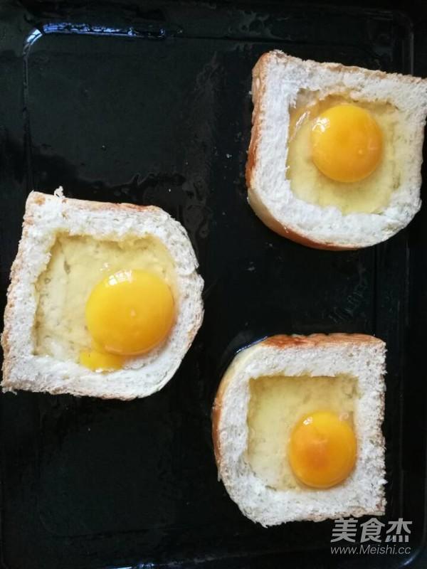 太阳蛋吐司怎么吃