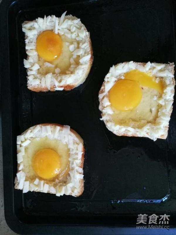 太阳蛋吐司怎么做