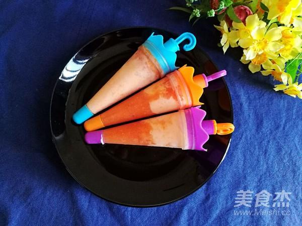 木瓜酸奶冰成品图