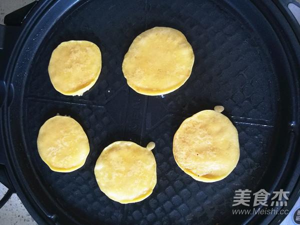 南瓜糯米小饼怎样做