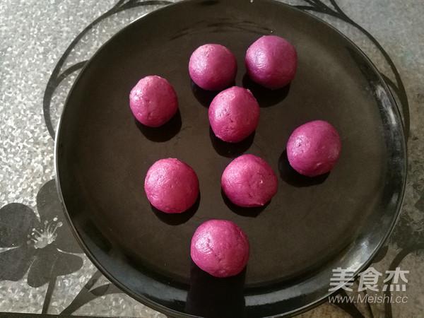 紫薯馅三色冰皮月饼怎么煮