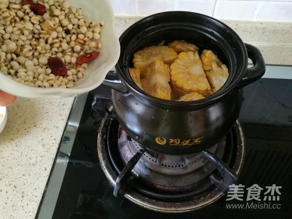 玉米淮山排骨海味汤怎么煮