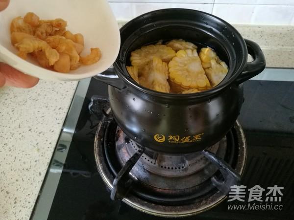 玉米淮山排骨海味汤怎么炖