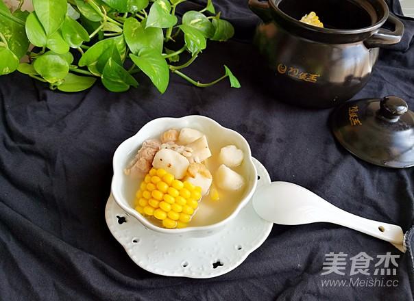 玉米淮山排骨海味汤怎样煸