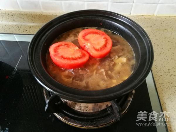 淮山西红柿牛肉煲怎么炖