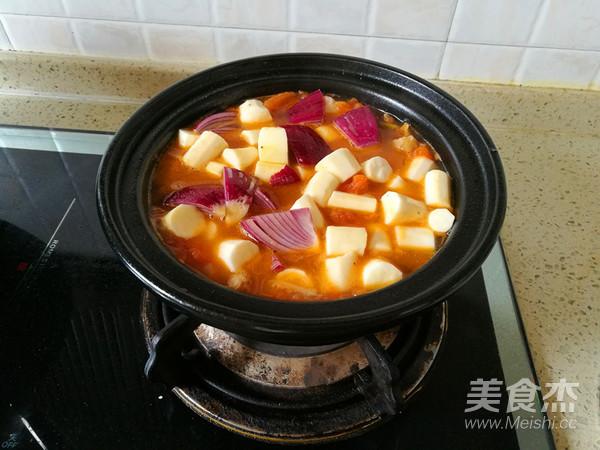 淮山西红柿牛肉煲怎样煸