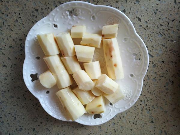 咖喱香菇丸子淮山胡萝卜煲的简单做法