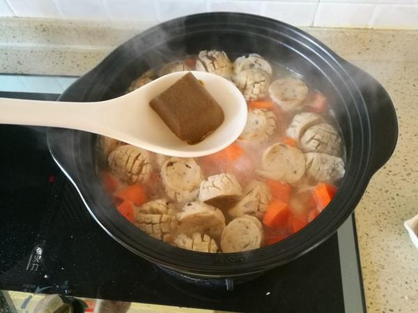 咖喱香菇丸子淮山胡萝卜煲怎么炖