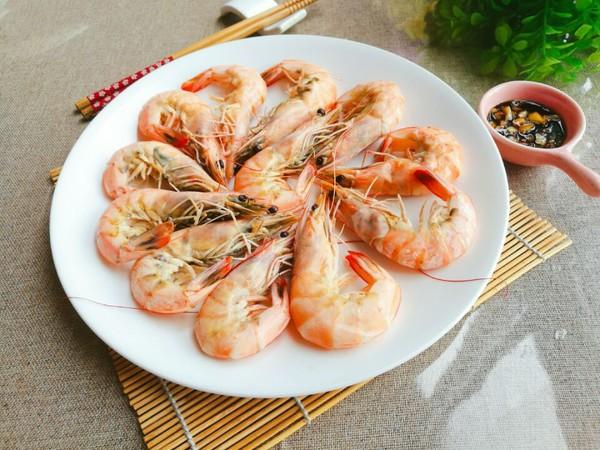 白灼海虾的简单做法