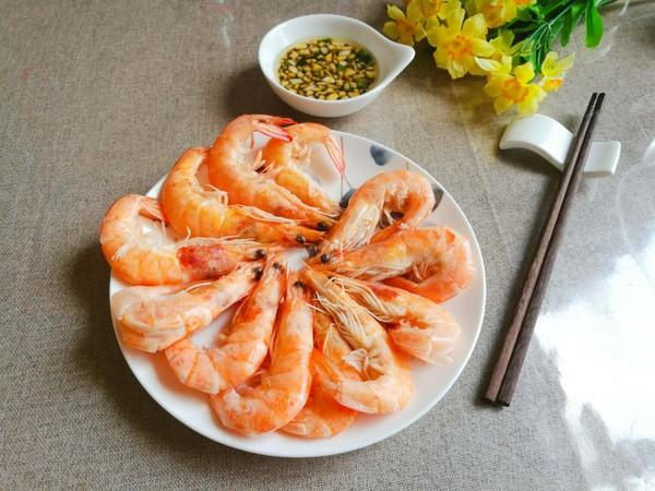 白灼北极虾怎么煮