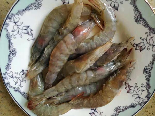 白灼海虾的做法图解