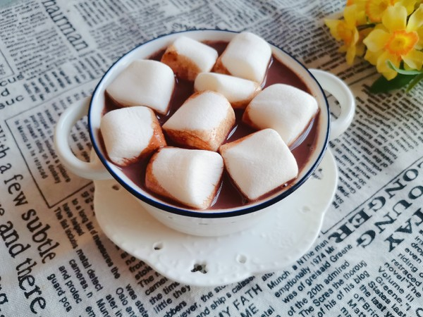 棉花糖热可可饮怎么炒