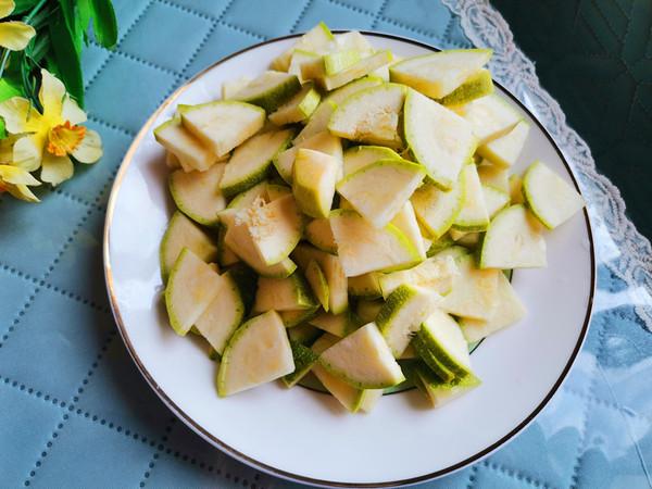 蒜味蒲瓜的做法图解