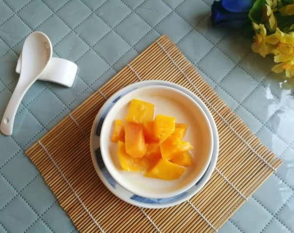 木瓜牛奶甜汤怎么吃
