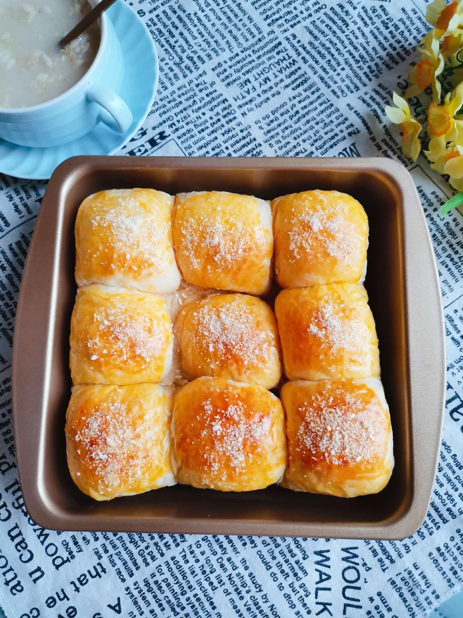 奶黄馅小面包怎么煮