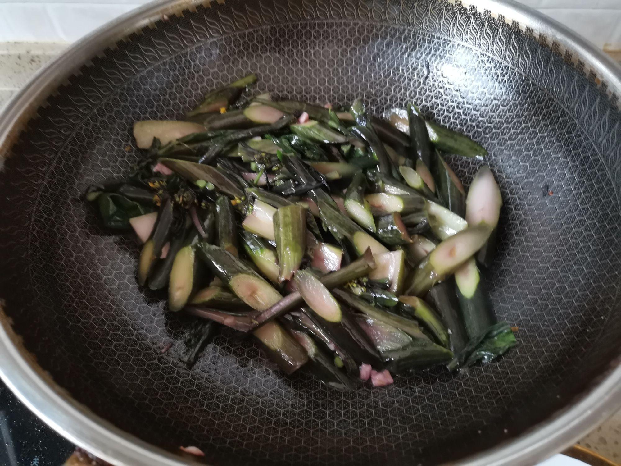 蒜蓉炒红菜苔怎么做