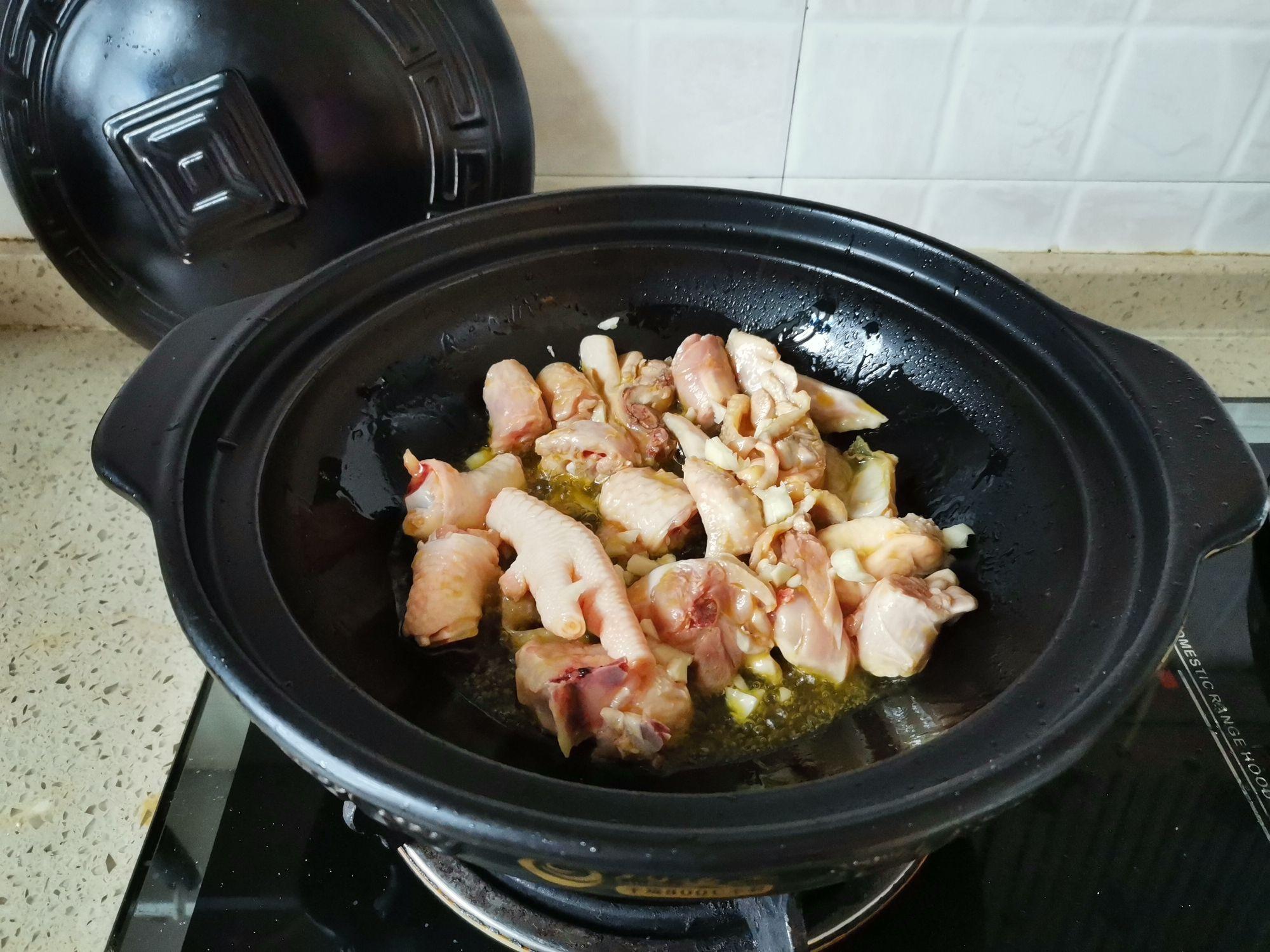 萝卜香菇鸡肉煲的做法图解