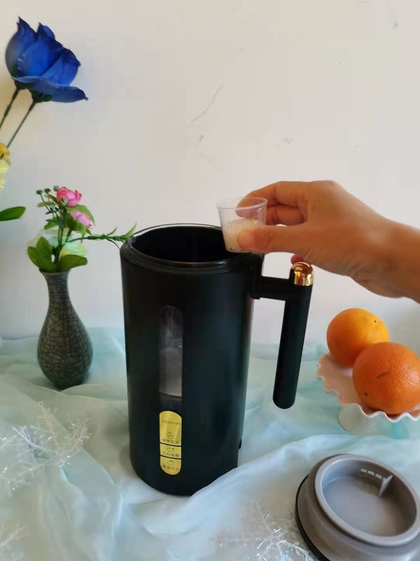红豆豆浆的步骤
