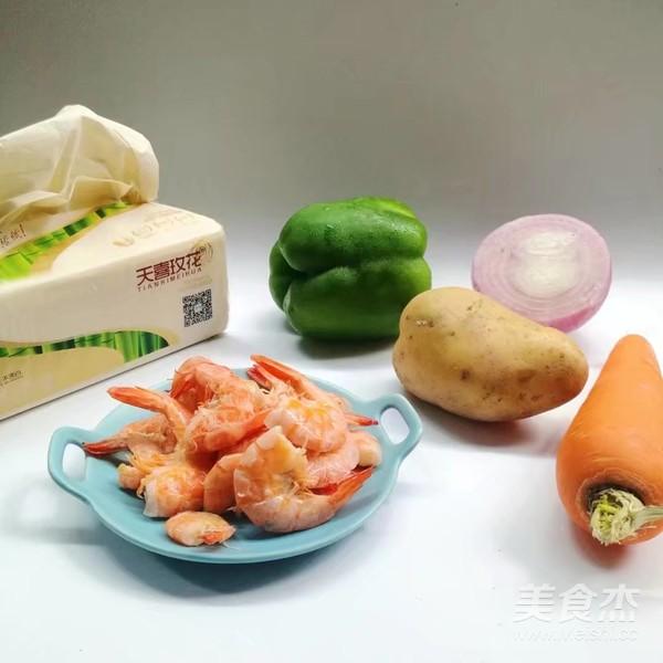 时蔬虾仁烤串的做法大全