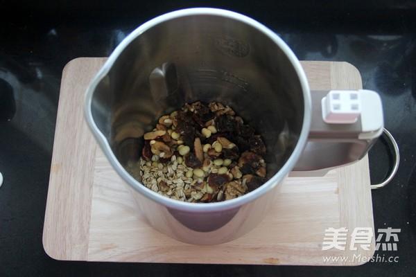 核桃燕麦豆浆的做法图解