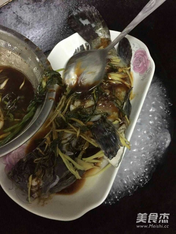 清蒸石斑鱼的简单做法