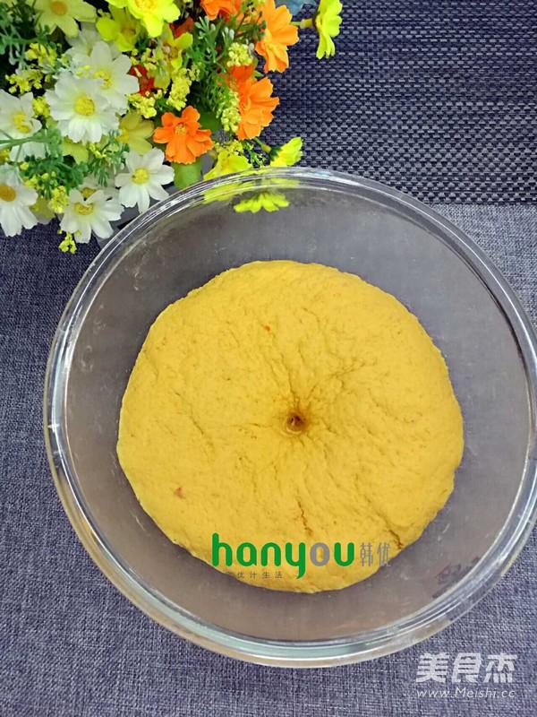 南瓜猪猪豆沙包的家常做法