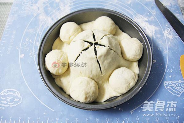 牛奶花朵面包怎么煮