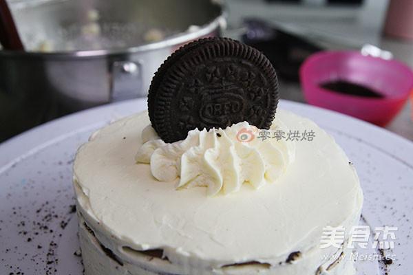 奥利奥可可千层蛋糕的制作