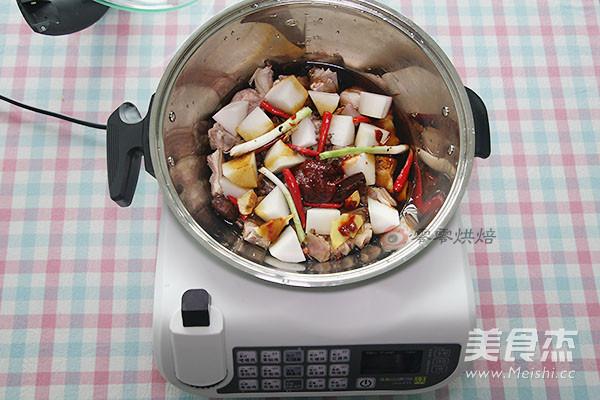 红烧羊肉萝卜的简单做法