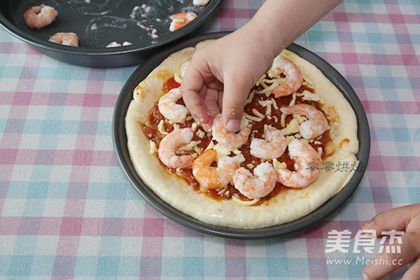 鲜虾培根披萨怎样煮